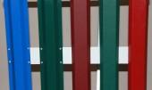 Цветовая гамма евроштакетника