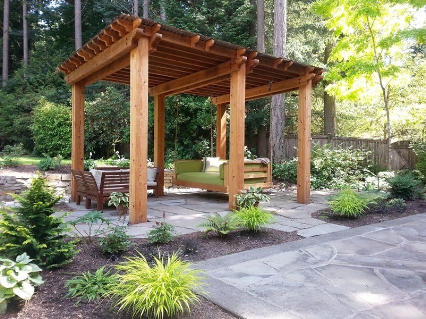 Беседки из дерева своими руками - инструкция по строительству ТОП-5 основных типов древесины