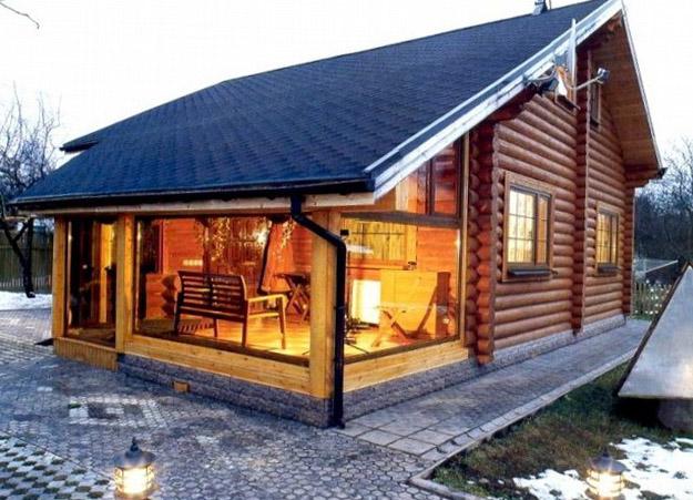 Баня летняя кухня веранда под одной крышей