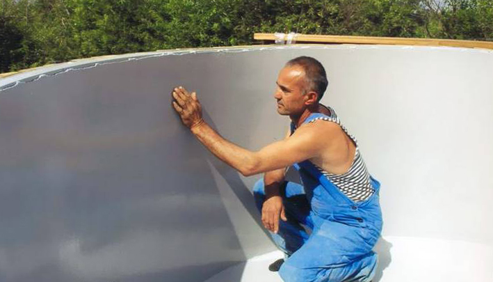 Гидроизоляция бассейна под плитку: технология гидроизоляция швов, технология выполнения