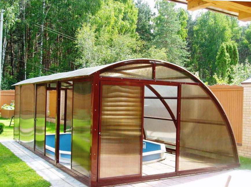 сооружение бассейна в теплице
