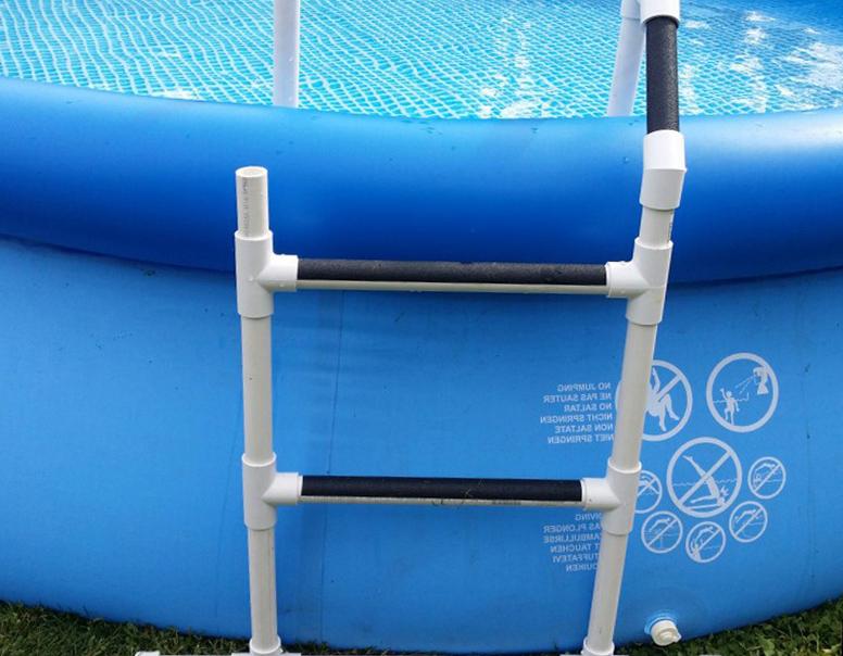Чертеж лестницы для бассейна