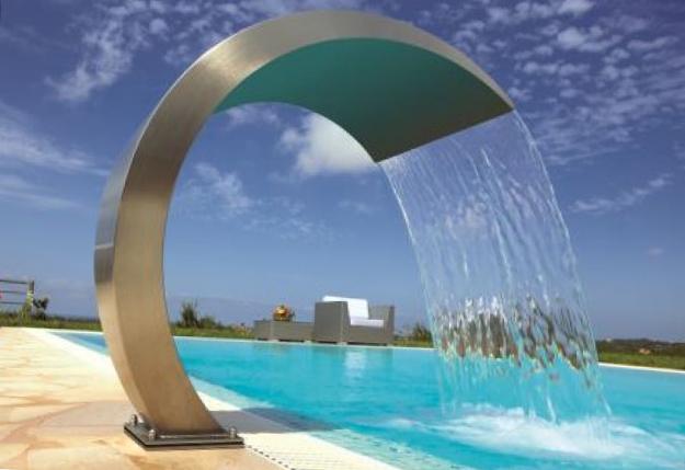 водопады для бассейна